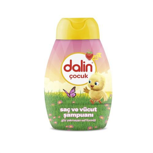 Dalin Kids Çilekli Saç Vücut Şampuanı 300ml