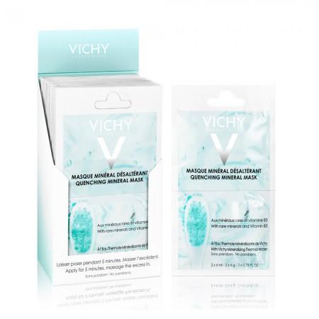 Vichy Cilt Nemlendiren Mineral Maske 2x6 ml
